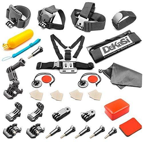 dekasi-accesorio-para-gopro-hero-4-3-3-2-1-black-silver-kit-de-accesorios-para-gopro-4-3-3-2-1-negro