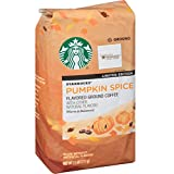 Starbucks Pumpkin Spice Flavored Ground Coffee (Color: Orange, Tamaño: 11 Ounces)