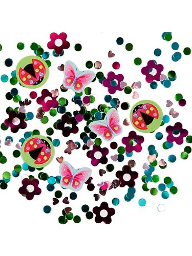 Garden Girl Confetti Value Pack (3 types)