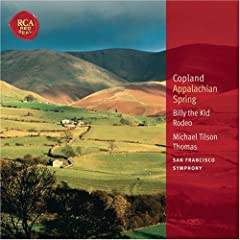 Copland: Appalachian Spring; Billy the Kid; Rodeo