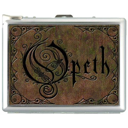 opeth cigarette case lighter card Case