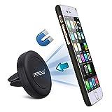 Soporte Magnético de Movíl para Rejillas del Aire de Coche, Mpow Grip Magic Car Mount Universal para iPhone 6 Plus/6s/6/5 Android Smartphone GPS Navegador
