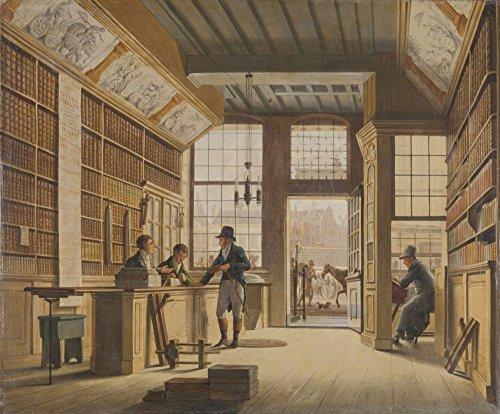 book-shop-of-pieter-meijer-warnars-on-the-vijgendam-in-amsterdam-poster-print-9144-x-6096-cm