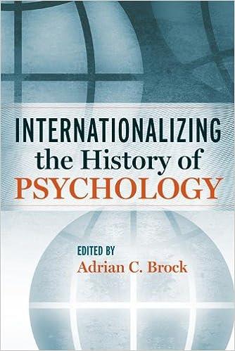 بین المللی سازی روانشناسی، تاریخچه روانشناسی، روانشناسی آمریکایی، روانشناسی فرهنگی، نفوذ
