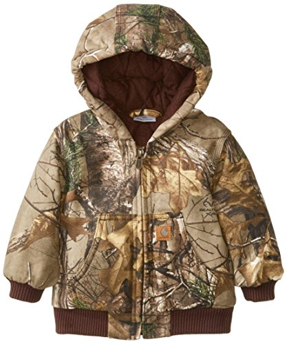 Carhartt Baby-Boys Camo Active Jacket, Realtree Xtra, 6 Months back-869159