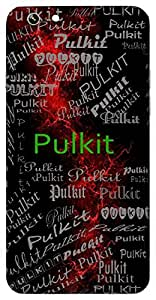 Pulkit (Happy; Thrilled; Overjoyed) Name & Sign Printed All over customize & Personalized!! Protective back cover for your Smart Phone : Samsung Galaxy S4mini / i9190