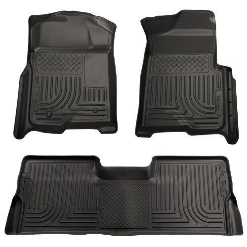 Nylon Carpet Coverking Custom Fit Front Floor Mats for Select Chevrolet HHR Models Black
