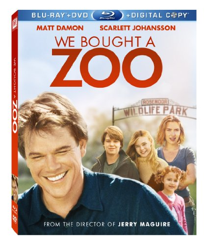 Cover art for  We Bought a Zoo (Blu-ray/ DVD + Digital Copy)