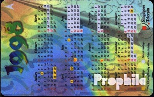 Singapur 1920 5 $ gebraucht Kalender 1998 (Telefonkarten für Sammler)