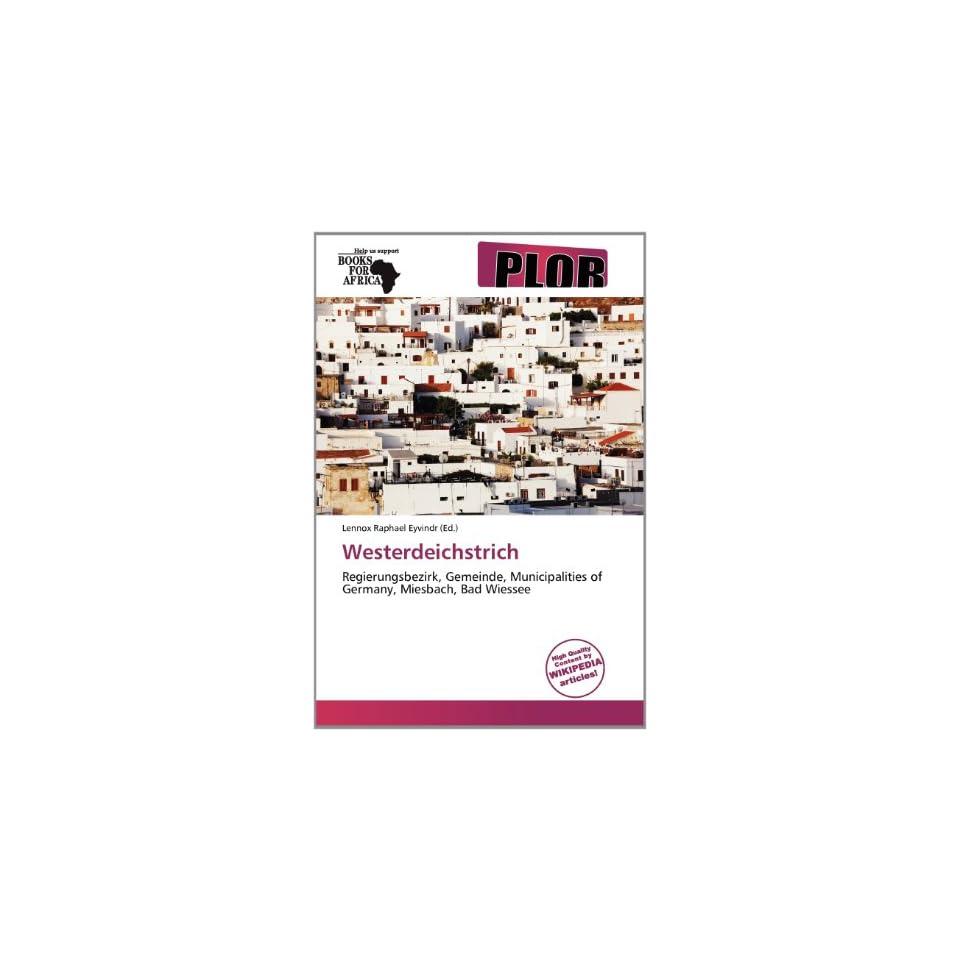 Westerdeichstrich (9786138676706) Lennox Raphael Eyvindr Books