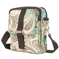 ililily Mini Pattern Cross Body Adjustable Shoulder Strap Messenger Bag (bag-004-4)