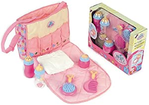 klein 1608 dolls changing bag with accessories for baby orelie toys games. Black Bedroom Furniture Sets. Home Design Ideas