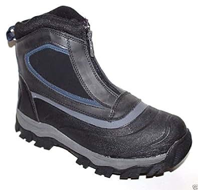 GH Bass Men's Size 9 Huron Black Leather Waterproof Duck