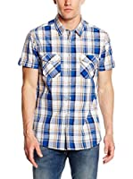LTB Jeans Camisa Casual Nopese (Azul / Blanco)