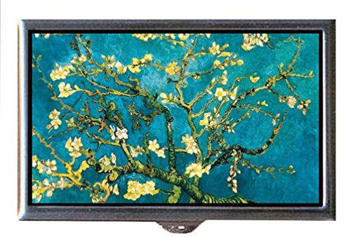 Vincent Van Gogh Almond Blossom Art Decorative Pill Box