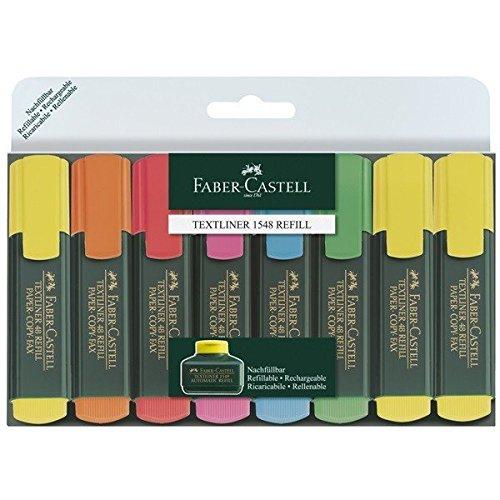 faber-castell-154862-textmarker-textliner-48-promo-1-5-mm-8er-etui-inhalt-3x-gelb-je-1x-grun-orange-