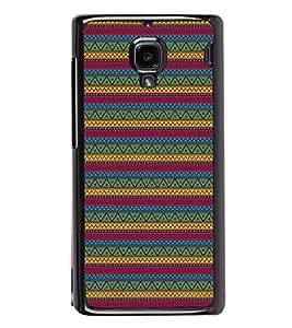 Zigzag Pattern Back Case Cover for XIAOMI REDMI 1S