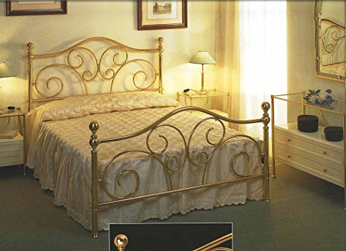 Lits en laiton et têtes de lit: modèle PAU.