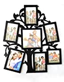 Empreus Black 7 Photo Collage Frame