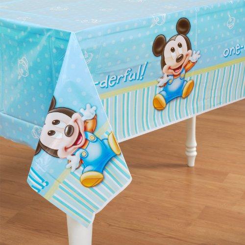 Hallmark Mickey's 1st Birthday Table Cover