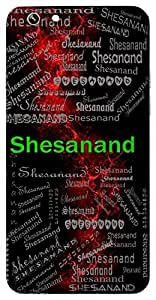 Shesanand (Lord Vishnu) Name & Sign Printed All over customize & Personalized!! Protective back cover for your Smart Phone : Apple iPhone 4/4S