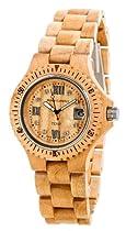 Tense Maple Natural Wood Roman # Watch Ladies L4100M RNLF