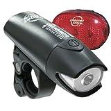 Planet Bike Beamer 1 and Blinky 3 LED Bicycle Light Set