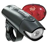 Planet Bike Beamer 1 and Blinky 3 LED Bicycle Light Set ~ Planet Bike