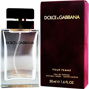 Dolce and Gabbana Eau de Parfum Spray for Women, 1.6 Ounce