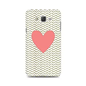 Mobicture Chevron Heart Premium Printed Case For Samsung J1 Ace