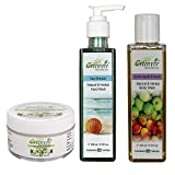 Greenviv Natural Combo of Aloe-Vera & Chamomile Baby Balm (50 gm), Sea Breeze Hand Wash (200 ml) With Green Apple & Peach Body Wash (200 ml)