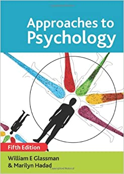 Approaches to psychology glassman