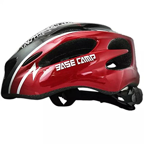Ezyoutdoor Bicycle Helmet Motocross Bicycle Helmets UV Helmets Motorcycle Helmets Electric Car Helmet Electric Car Motor Car Riding (Red and Black) (Cycling Jersey Black Venom compare prices)