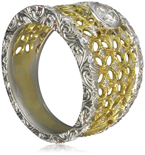 bardi-stile-buccellati-ring-in-yellow-and-white-gold-18k-with-1-central-diamond-and-additional-diamo