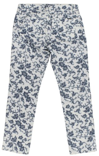Ralph Lauren Women's Petite Modern Straight Ankle Floral Jeans Pants-IM-10P