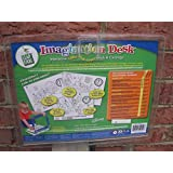 Leap Frog Imagination Desk Interactive Color-and-Learn Book And Cartridge: Disney's A Day With Pooh (Life Lessons...