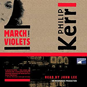 March Violets Audiobook