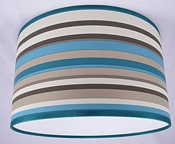abat jour fait main 48cm 48cm arthouse sophia teal luminaires et eclairage m9. Black Bedroom Furniture Sets. Home Design Ideas