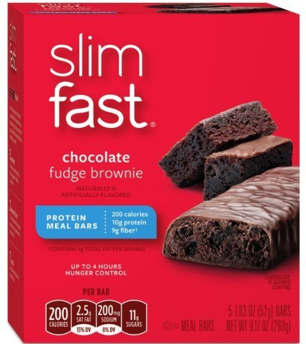 slimfast-chocolate-fudge-brownie-meal-bars-5-count-183-ounce-bars-pack-of-8-by-slim-fast