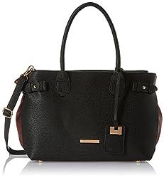 Stella Ricci Womens Handbag (Black) (SR148HBLK)