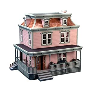 The Lily Wooden Dollhouse Kit