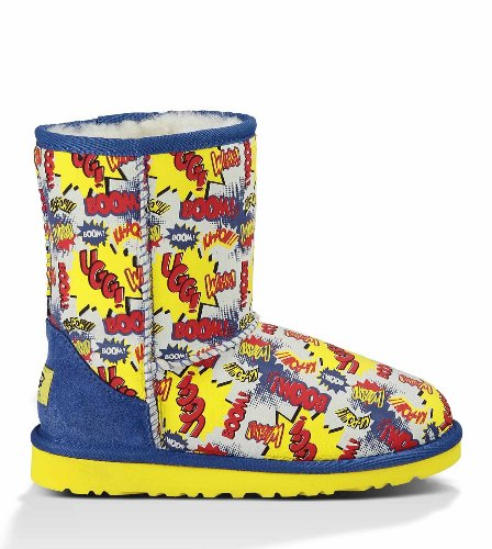 UGG Australia Kids' Classic Short Comic Boot