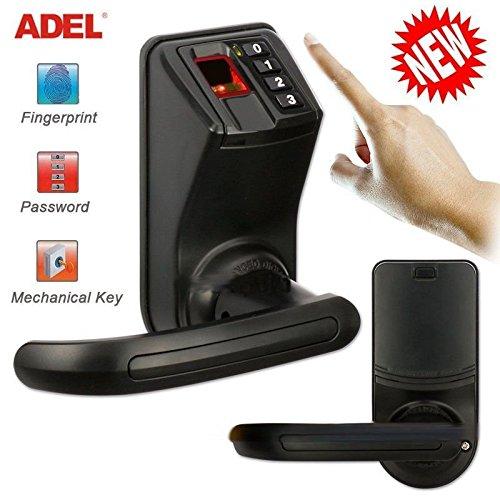 BEST NEW Door Lock Biometric Fingerprint Keyless Keypad Password Access control (Wifi Door Handle compare prices)