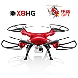 Syma-X8HG-Altitude-Hold-Mode-Headless-RC-Quadcopter-with-8MP-Camera-Red