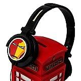Marvel Ironman headphones with mic and volume control POR-215