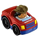 Fisher Price Little People Wheelies Vehicle PICK UP TRUCK with farmer jade by Little People