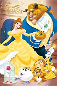 Posters: Walt Disney Poster - Beauty And The Beast (36 x 24 inches)