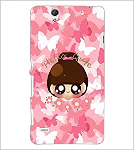 PrintDhaba Cartoon D-4032 Back Case Cover for SONY XPERIA C4 (Multi-Coloured)