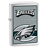 51Lhb4C20sL. SL160  Zippo NFL Eagles Lighter (Silver, 5 1/2 x 3 1/2 cm)