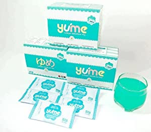 "Yume 20000mg Fish Collagen Peptide + Glutathione + L-Cysteine"" 15 packs"